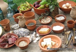 the eating habits of ancient romans You have the ancient romans to thank  with the jentaculum, or breakfast --  salted bread, dried fruit and eggs washed down with milk or wine.